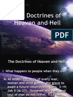 19 20 the Doctrine of Heaven and Hell