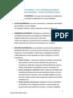 ACTIVIDAD-ECONÓMICA Ferreyra, Flores, Galarce y Garcia