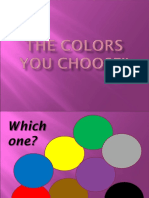 Personality_the Color u Choose
