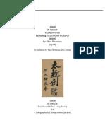YANG STYLE TAIJI SWORD | Brennan Translation