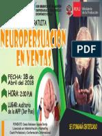 Afiche Oficial Neuropersuacion en Ventas