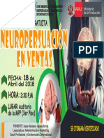 Afiche Oficial Neuropersuacion en Ventas