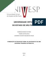 Otimização de Processo Fabril - Projeto Integrador