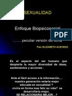 Sexo, Sexualidad y Genero