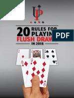 20 Flush Draw Rules 2018
