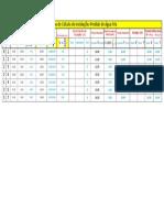 Planilha Cálculo Instalações Prediais de Água Fria (1)