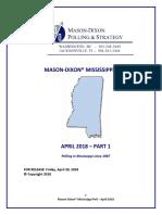 Mason Dixon April 2018 Senate