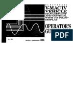 V-Mac IV Vehicle Operator Guide