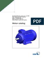 Catalogo de motores eléctricos KSB
