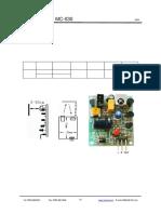 接近感应模块 - mc030