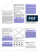 Manual Infiniti Fx35