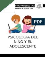 Psicologia de La Niñez t Adolescente