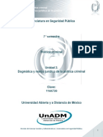 Unidad 2. Dogmática y Marco Jurídico de La Política Criminal