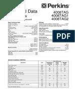 Technical Data 4000 Serias PERKINS