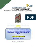 Vivienda Para Discapacitados Municipio de Riberalta