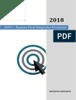 Preguntas Frecuentes 2018 efip 1