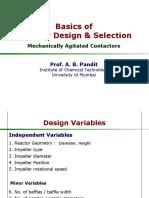 Basics of Reactor Design MAC2