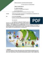 Informe Dia Mundial Actividad Fisica