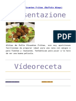 Alitas de Pollo Picantes Chef Stefano