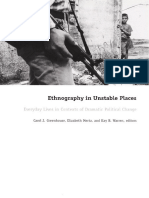 Carol J. Greenhouse (Ed.), Elizabeth Mertz (Ed.), Kay B. B. Warren (Ed.) - Ethnography in Unstable Places_ Everyday Lives in Contexts of Dramatic Political Ch