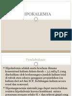 hipokalemiaa