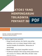 5. Faktor2 Yang Mempengaruhi Terjadinya Penyakit Infeksi