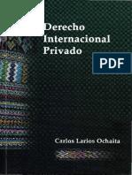 Carlos Larios Ochaita - Derecho Internacional Privado