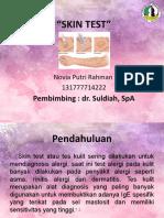Referat Skin Test