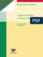 Educación Media h c Niveles 1 y 2 Lengua Castellana y Comunicación