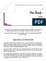 The Book of Second Peter - Robert Breaker