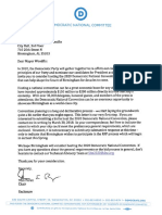 DNC Letter