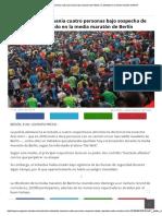 Detenidas en Alemania Cuatro Personas Bajo Sospecha de Intentar Un Atentado en La Media Maratón de Berlín2