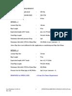Compressor Air Calculation