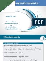 CH04-Diferenciacion Numerica v01