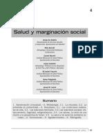 05- Salud y Marginación Social
