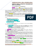 Tema 18 - Informática Básica