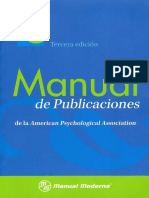 Manual APA 6ta (3era Esp) 2010 Completo