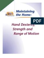 Hand Dexterity