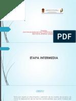 Etapa Intermedia Cnpp