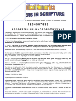 Biblical Numerics_Numbers in Scripture