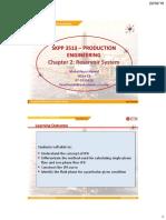 Chapter 2-Reservoir System