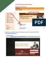 Guia Para Publicar Examen UAP