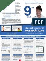 MA09 Información Para La Familia Hondureña Sobre Estándares Educativos