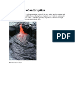 Components of an Eruption