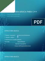 Estructura Basica Para c 11