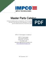 Master Catalog September 2017