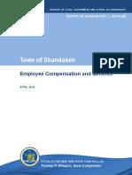 Town of Shandaken Employee Compensation and Benefits