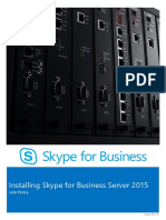 Installing Skype for Business Server 2015 Step by Step eBook.pdf