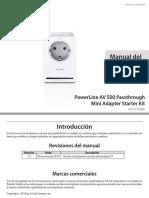 power line DHP-P309AV_C1_Manual_v1.00(ES).pdf