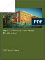 Northwester District Attorney's Annual Reports, April 2017